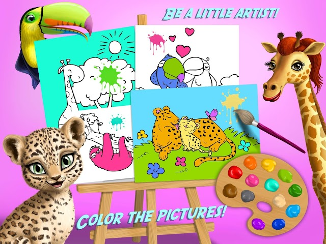 android Jungle Animal Hair Salon FULL Screenshot 11