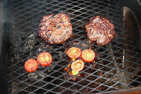 I grilled the tomatoes as well as the beef.  I had a very...