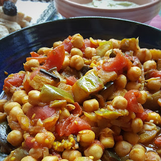 Eggplant Chickpea Tagine Recipes