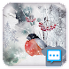 Ink winter Next SMS skin - Androidアプリ