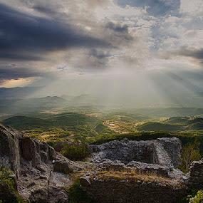 light by Tanya Markova - Landscapes Travel ( mountain, stone, castle, landscape, light )