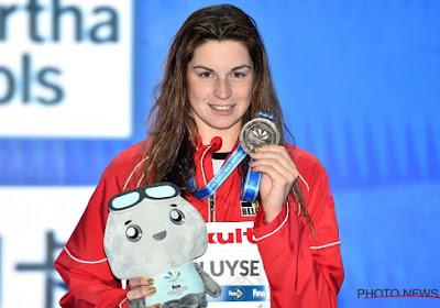 Fanny Lecluyse bezorgt België brons op WK zwemmen, Victor Campenaerts in de wolken