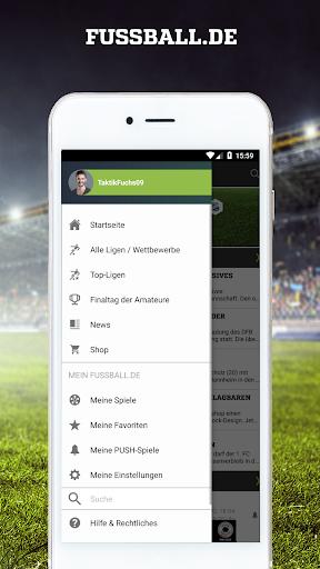 FUSSBALL.DE 6.9.11 screenshots 1