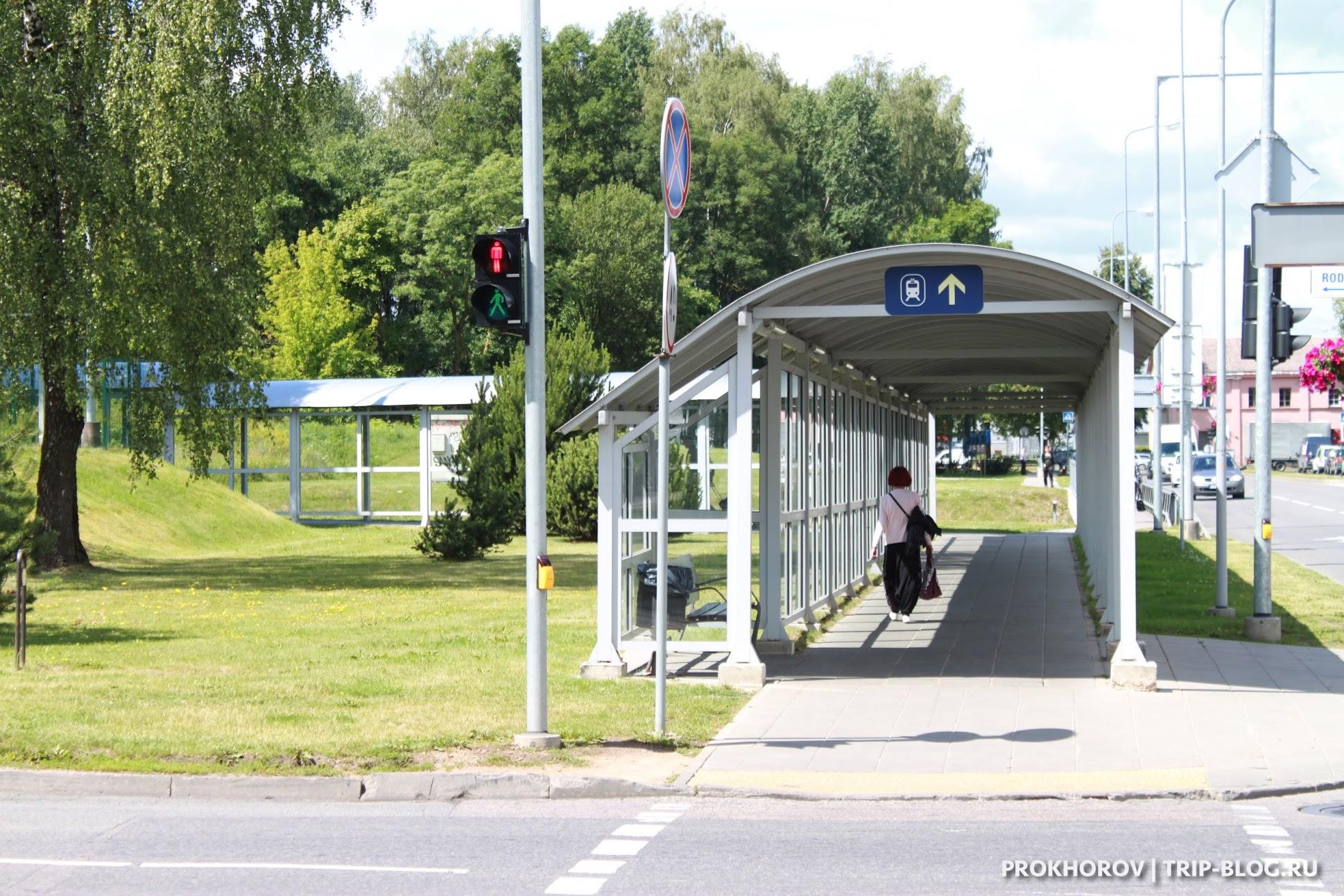 как добраться до города из аэропорта Вильнюса по железной дороге