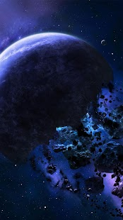 Asteroids Live Wallpaper- screenshot thumbnail