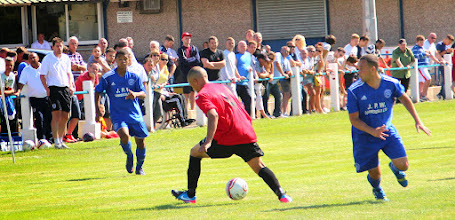 Photo: 03/08/13 v Chadderton (North West Counties League 1st Division) 2-2 - contributed by Gary Spooner