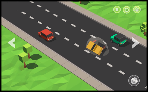 Blocky Car : Driving Highway Road Racing Simulator - náhled