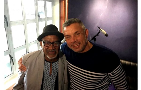 "Sipho ""Hotstix"" Mabuse and Mark Fish."