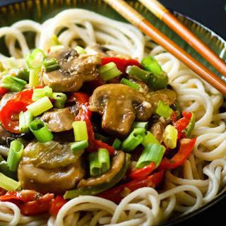 Easy Mushroom Stir-Fry [Vegan, Gluten-Free]