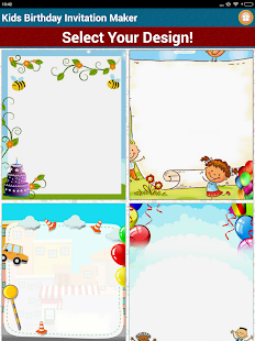 Kids birthday invitation maker apps on google play screenshot image stopboris Images