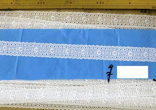 Photo: №731318-302綿レースオフ №731252-002綿レース:巾25mm(在無し)