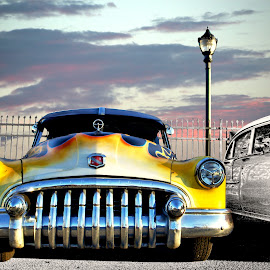 1950 Buick by JEFFREY LORBER - Transportation Automobiles ( rust 'n chrome, buick, fast cars, vintage cars, lorberphoto )