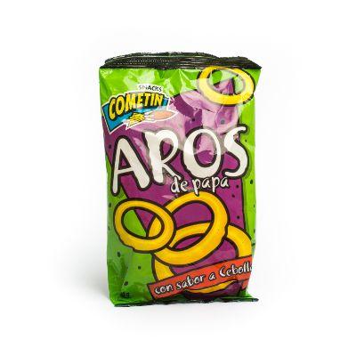 snack cometin aros de papa 60gr
