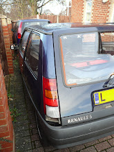 Photo: Renault 5 Gt Turbo Raider Rear Pillar N/S refitted.