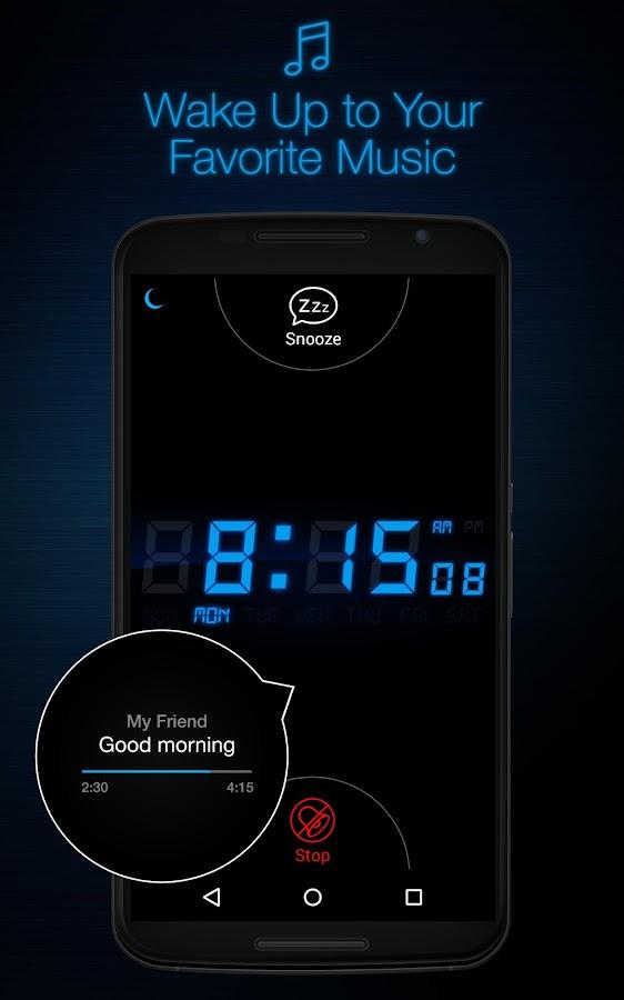 My Alarm Clock- screenshot
