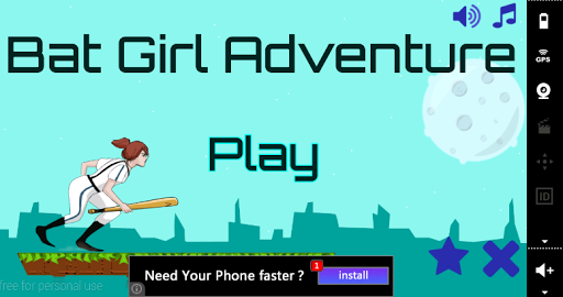 【免費冒險App】Bat Girl Adventure-APP點子