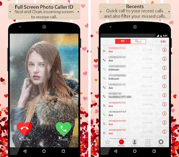 Love Caller Screen Phone Dialer - náhled