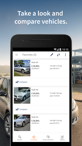 AutoScout24 - used car finder screenshot