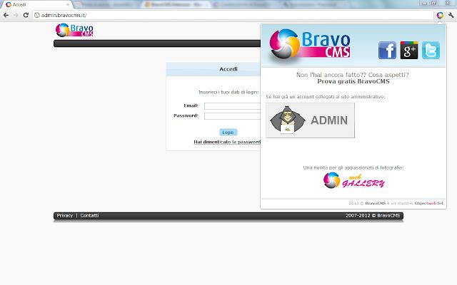 BravoCMS Popup