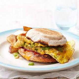 Denver Omelet Sandwiches.