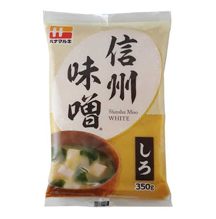 Shinsu Shiro Miso 350g Hanamaruki