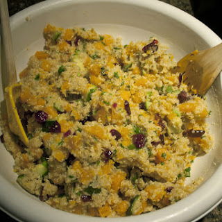 Easy Quinoa Stuffing with Vegetables
