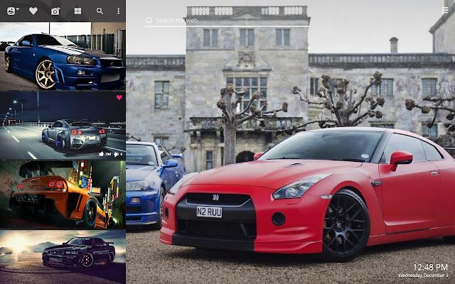 Nissan Skyline Gtr Hd Wallpaper New Tab