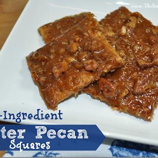 4-Ingredient Butter Pecan Squares