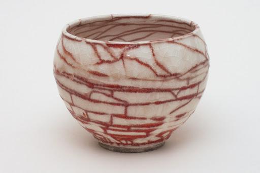 Bruce Chivers Ceramic Raku Tea Bowl 03