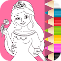 Princess Coloring Pages for Kids 👸💍 icon