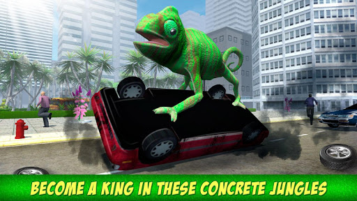 Angry Giant Lizard - City Attack Simulator 1.0.0 screenshots 4