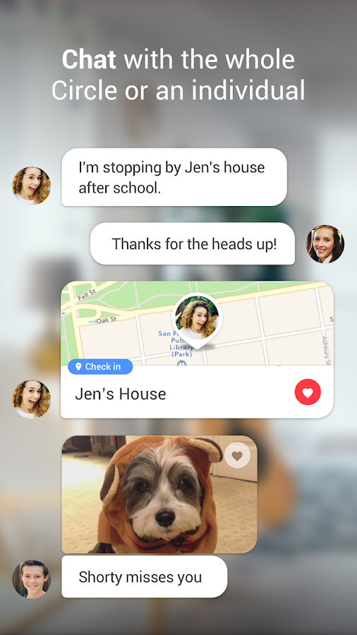Familienorter - Life360 – Screenshot
