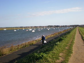 Photo: Norfolk Coast Path - From Brancaster to Warham - Wells: the Bank