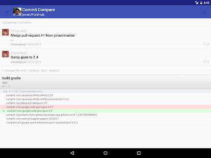 ForkHub for GitHub Screenshot 11