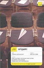 """Photo: Teach Yourself Origami Harbin, Robert McGraw-Hill/Contemporary 2003 paperback 192 pp Edition 2 7.78 x 5.22"""" ISBN 0071419799"""