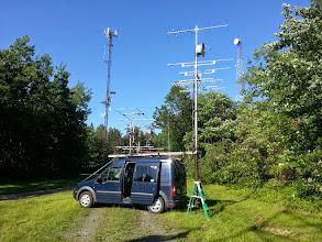 Photo: K8GP / Rover - FN00WA (looking NE) - ARRL June VHF 2014