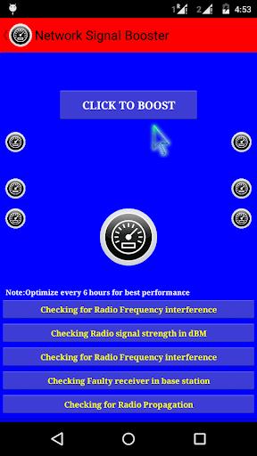Network Signal Booster Prank