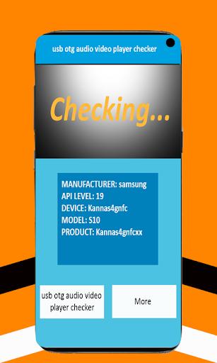 usb otg audio video player checker 8.1 Screenshots 3