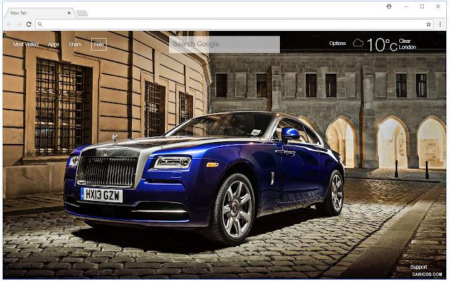 Rolls Royce Cars Wallpapers Hd Custom New Tab