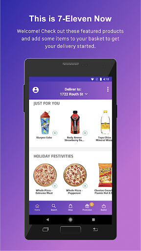 7NOW: Food & Alcohol Delivery 1.2.7 screenshots 1