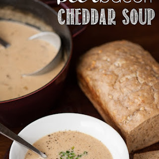 Beer Bacon & Cheddar Soup