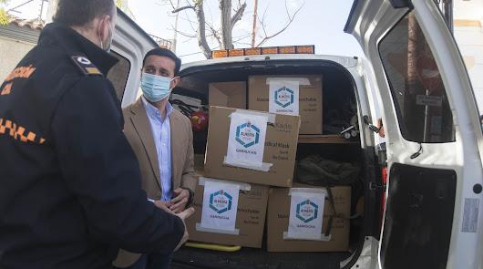 Comienza el reparto de más de 2 millones de mascarillas gratuitas de Diputación