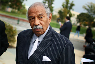 Photo: WASHINGTON, DC - OCTOBER 26:  U.S. Rep. John Conyers (D-MI) participates in a news conference at the U.S. Capitol October 26, 2011 in Washington, DC. Conyers called on the Joint Deficit Reduction Committee to preserve Medicare, Medicaid, and Social Security benefits when making their decision on cutting the deficit.  (Photo by Mark Wilson/Getty Images)
