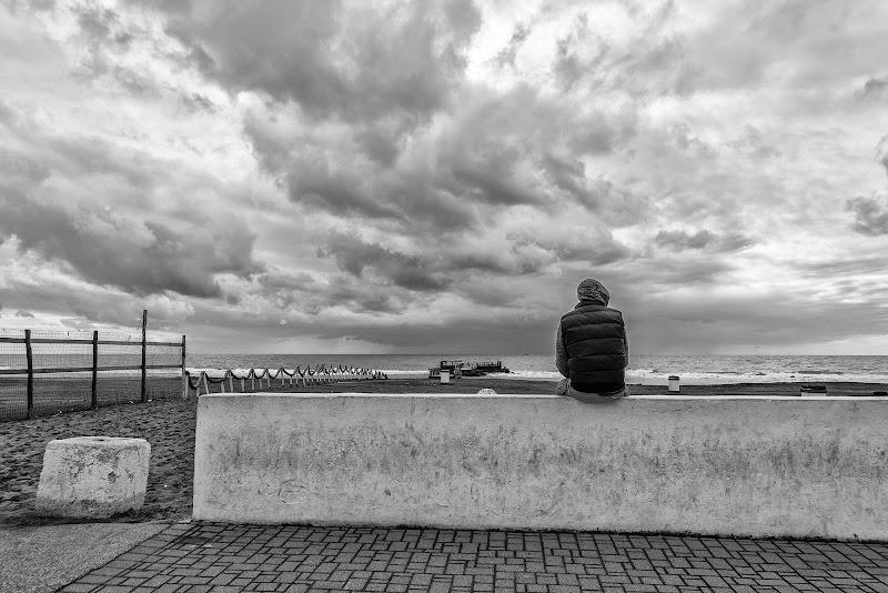 La malinconia del mare d'inverno di Domenico Cippitelli