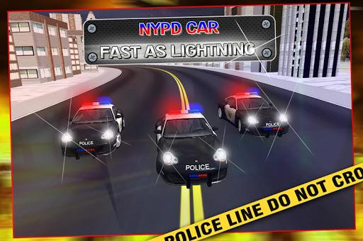 紐約市警察局汽車快如閃電