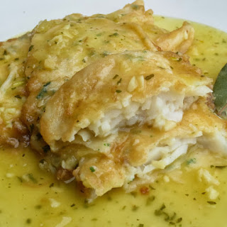 Halibut in Green Sauce
