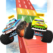 Impossible Tracks Sky Racing: Monster Truck Race