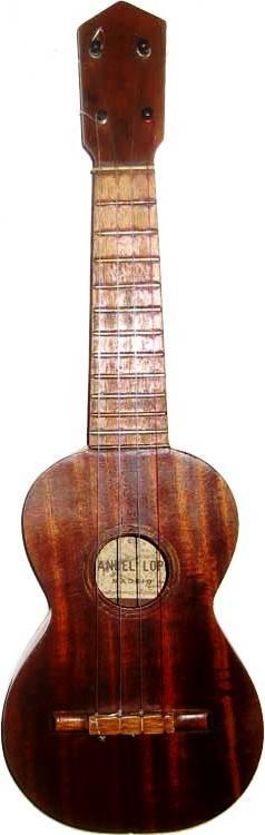 Manuel lopez soprano ukulele or Guitarico