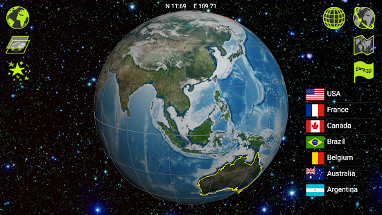 Earth 3D- screenshot thumbnail