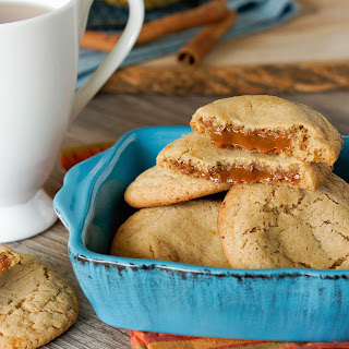 Dulce de Leche Stuffed Apple Cider Cookies